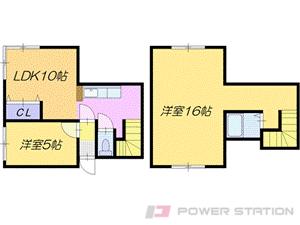 札幌市東区北46条東2丁目1賃貸マンション間取図面