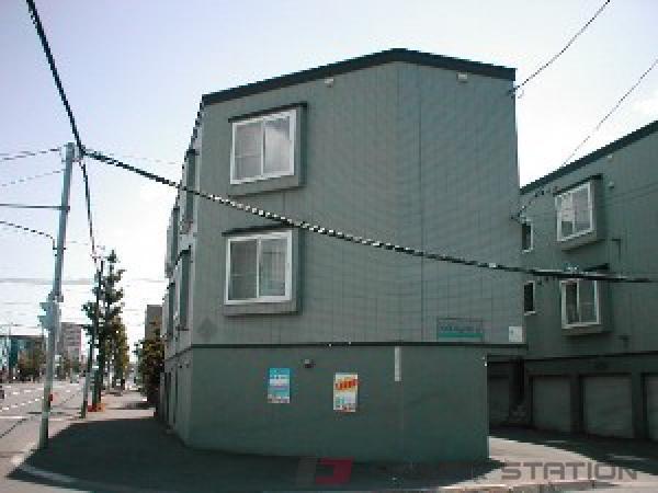 札幌市東区北32条東17丁目0賃貸アパート外観写真