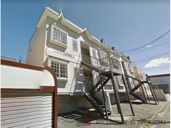 札幌市東区北28条東18丁目0賃貸アパート外観写真