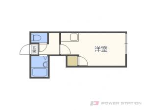 札幌市東区北35条東2丁目0賃貸アパート間取図面
