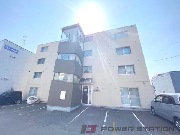 札幌市東区北36条東2丁目1賃貸マンション外観写真