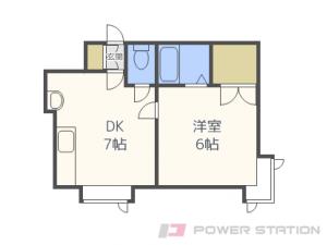 札幌市東区北36条東2丁目0賃貸アパート間取図面
