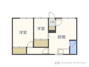 札幌市東区北37条東3丁目0賃貸アパート間取図面