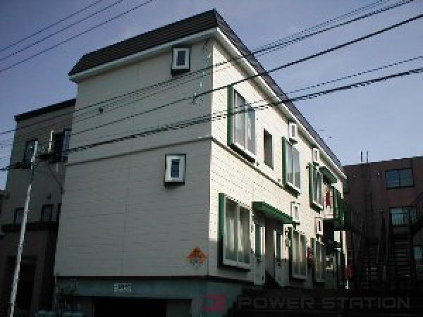 札幌市東区北38条東2丁目0賃貸アパート外観写真