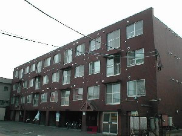 札幌市東区北34条東9丁目0賃貸マンション外観写真