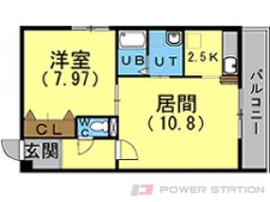 札幌市東区北8条東3丁目0賃貸マンション間取図面