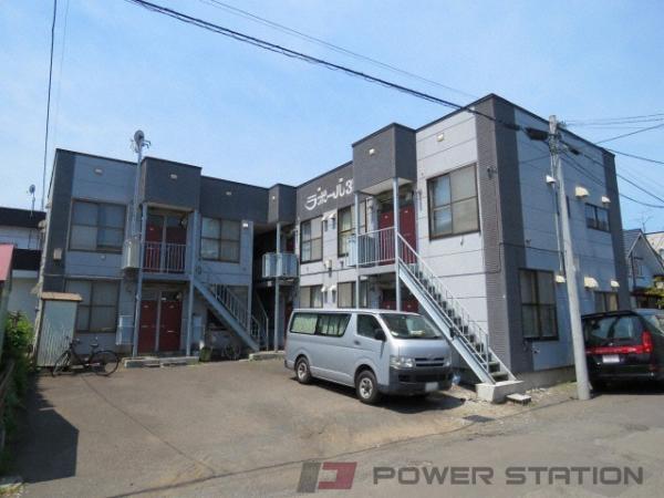 札幌市東区北35条東13丁目0賃貸アパート外観写真