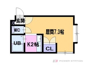 札幌市東区北36条東12丁目0賃貸アパート間取図面