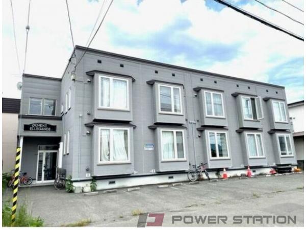 札幌市東区北35条東14丁目0賃貸アパート外観写真