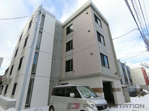 札幌市東区北34条東17丁目1賃貸マンション外観写真