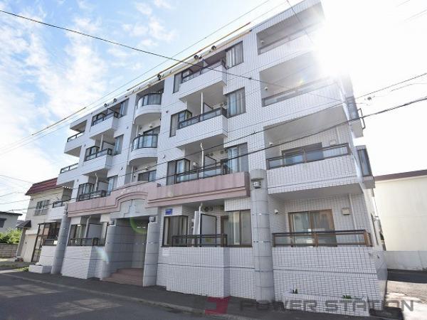 札幌市東区北35条東18丁目0賃貸マンション外観写真