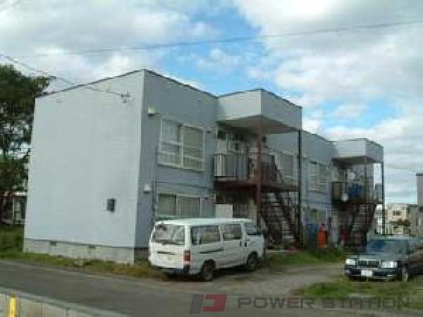 札幌市東区東苗穂11条2丁目0賃貸アパート外観写真