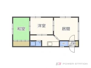 札幌市東区北42条東3丁目1賃貸アパート間取図面