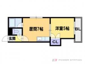札幌市東区北40条東7丁目0賃貸マンション間取図面