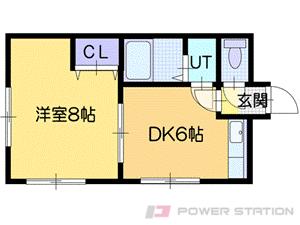 札幌市東区北38条東14丁目0賃貸マンション間取図面