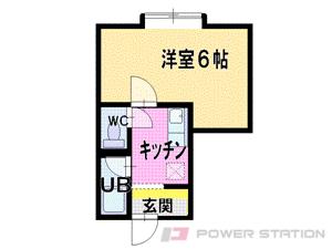 札幌市東区北39条東10丁目0賃貸アパート間取図面
