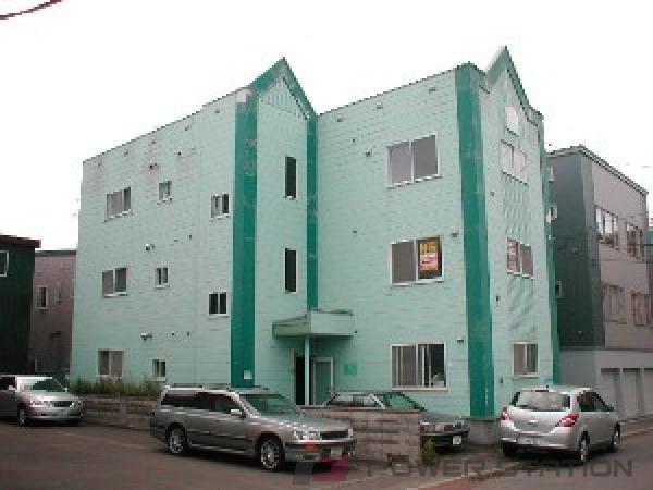 札幌市東区北38条東15丁目1賃貸アパート外観写真