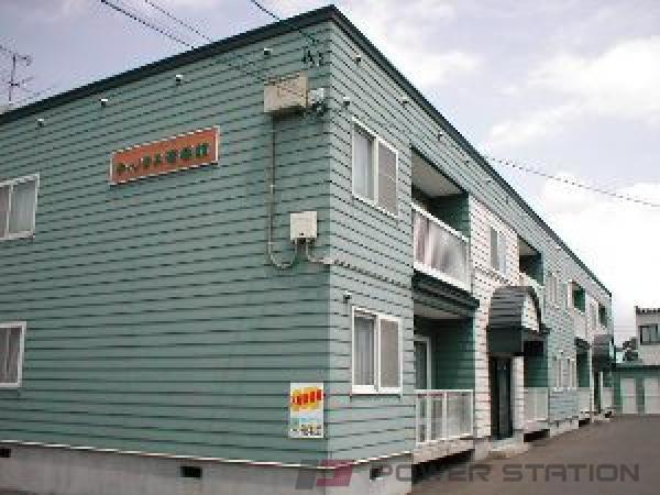 札幌市東区北37条東18丁目0賃貸アパート外観写真