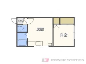 札幌市東区北49条東2丁目0賃貸アパート間取図面