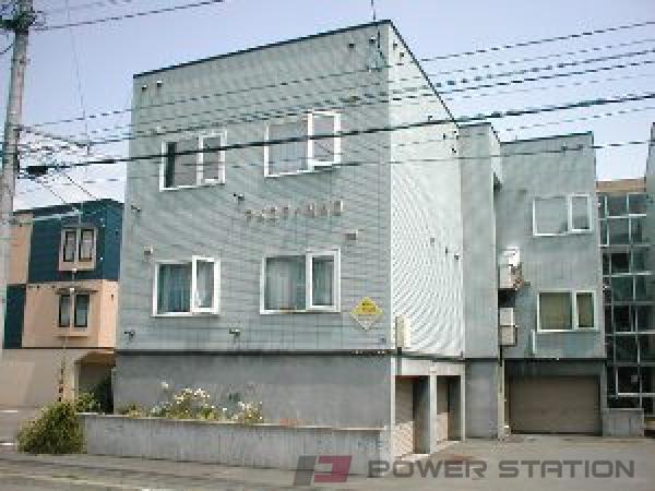 栄町1Kアパート外観