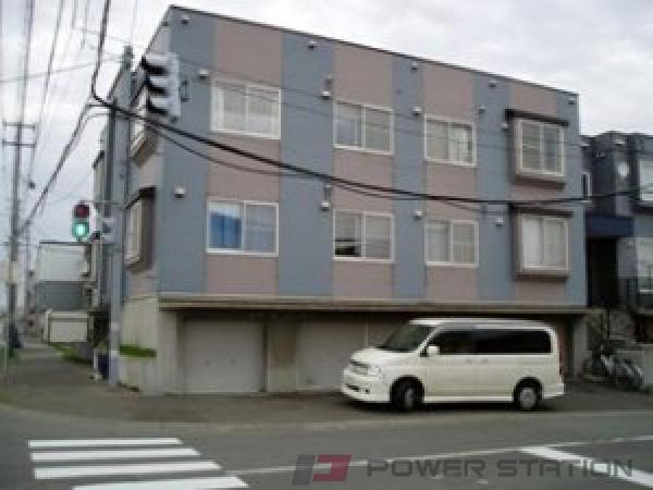 札幌市東区東苗穂15条3丁目0賃貸アパート外観写真