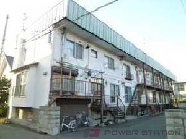 札幌市東区北44条東2丁目0賃貸アパート外観写真