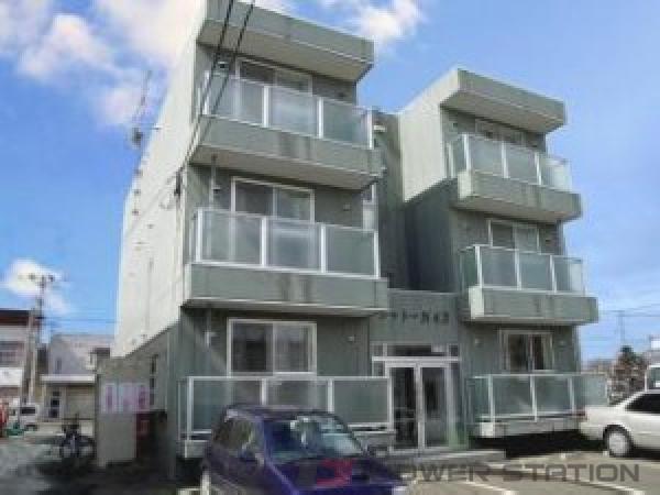 栄町1Rマンション外観