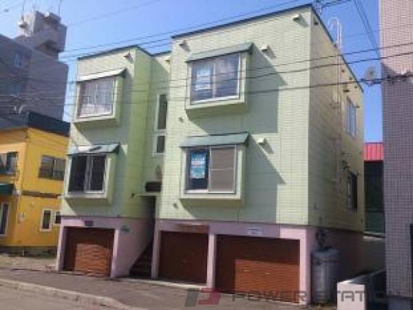 札幌市東区北43条東14丁目0賃貸アパート外観写真