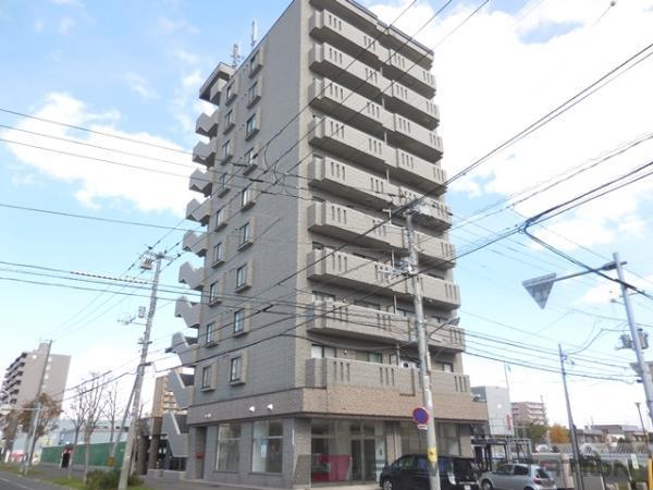 札幌市東区北45条東16丁目0賃貸マンション外観写真