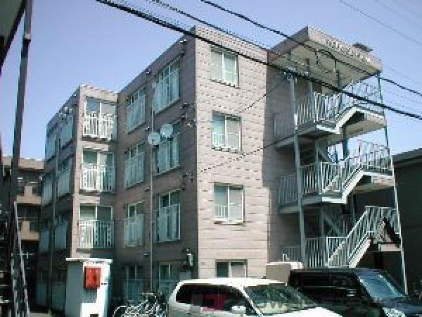 札幌市東区北42条東17丁目1賃貸マンション外観写真