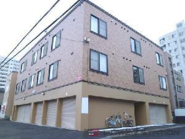 札幌市東区北42条東17丁目0賃貸アパート外観写真