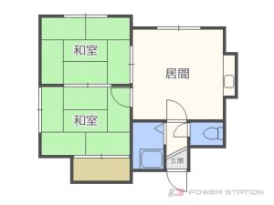 札幌市東区北48条東10丁目0賃貸アパート間取図面