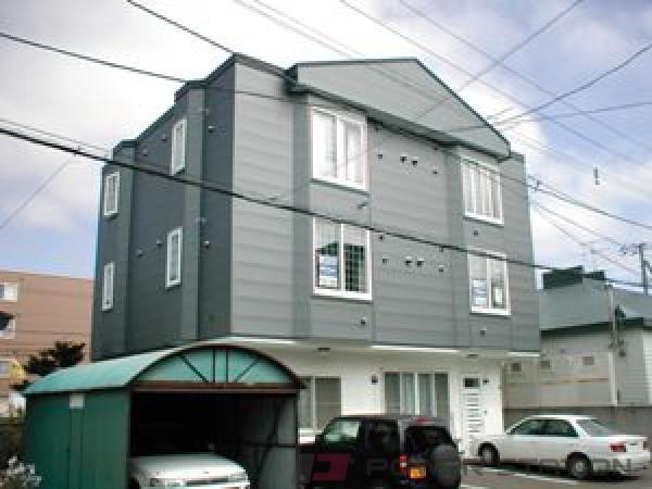 札幌市東区北45条東17丁目1賃貸アパート外観写真