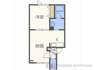 札幌市東区北48条東19丁目0賃貸アパート間取図面