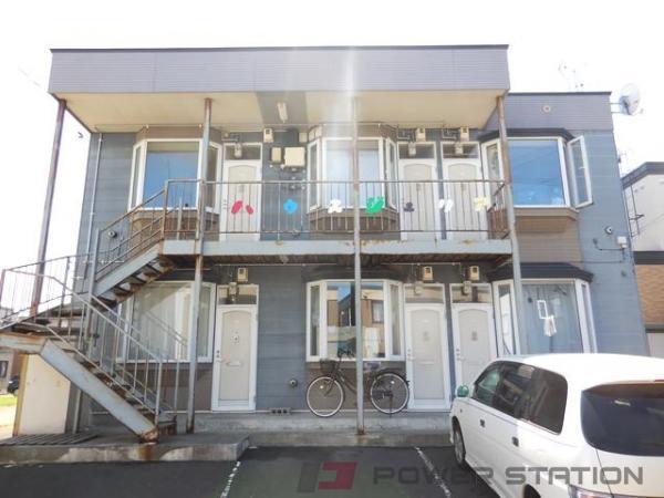 札幌市東区中沼西1条1丁目1賃貸アパート外観写真