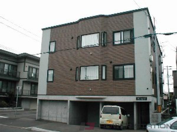 札幌市東区北丘珠3条2丁目1賃貸アパート外観写真