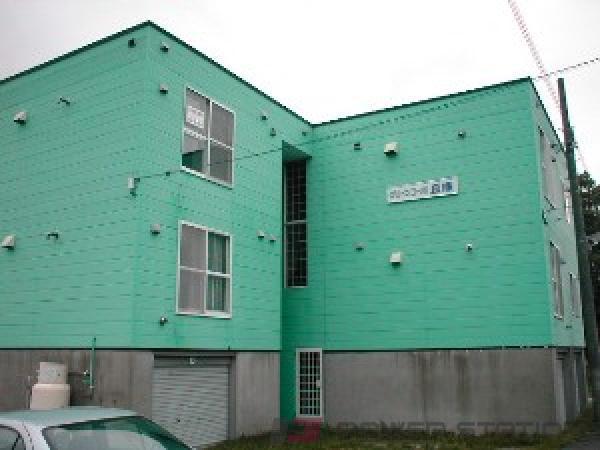 札幌市東区中沼西2条1丁目1賃貸アパート外観写真