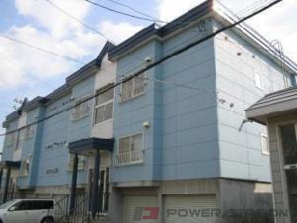 新道東2LDKアパート外観