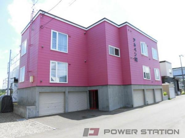 札幌市東区中沼西5条2丁目0賃貸アパート外観写真