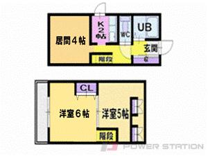札幌市東区北10条東3丁目1賃貸マンション間取図面