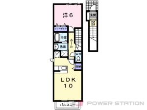 札幌市東区東雁来14条2丁目0賃貸アパート間取図面
