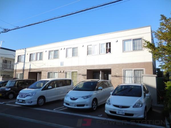 札幌市東区北丘珠5条3丁目1テラスハウス外観写真