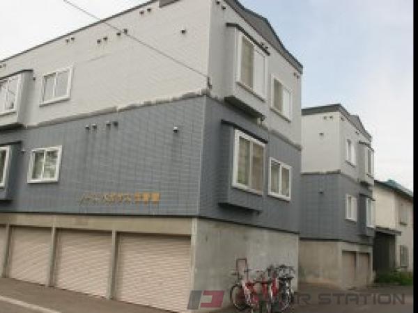 札幌市東区北16条東14丁目0賃貸アパート外観写真