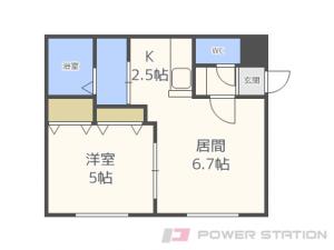 札幌市東区北10条東10丁目0賃貸マンション間取図面