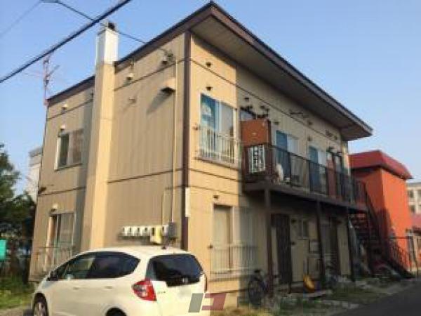 札幌市東区北14条東8丁目0賃貸アパート外観写真