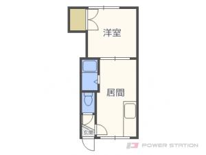 札幌市東区北14条東8丁目0賃貸アパート間取図面
