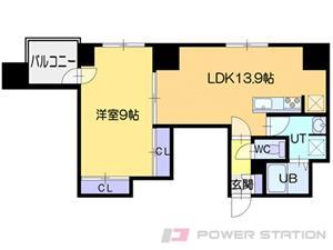 アコード23:6号室タイプ(1LDK)