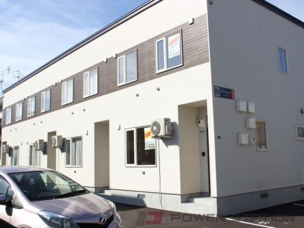 札幌市東区東雁来9条1丁目1テラスハウス外観写真