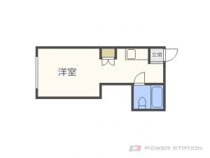 札幌市東区北21条東2丁目1賃貸アパート間取図面