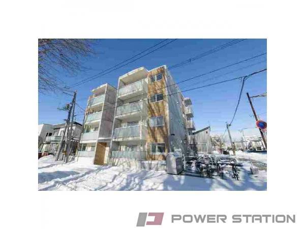 札幌市東区北22条東18丁目0賃貸マンション外観写真